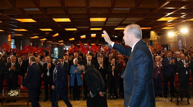 Cumhurbaşkanı Erdoğan, Avcılar 6. Olağan İlçe Kongresi'ne katıldı