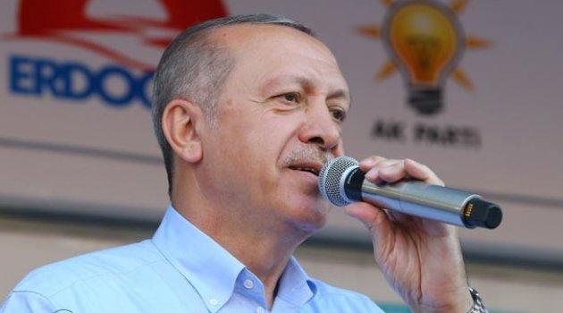 Cumhurbaşkanı Erdoğan: Birkaç ay içinde bitecek, sahiplerine teslim edeceğiz