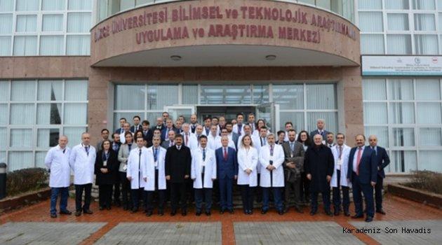 İhtisas Üniversitesi İlk Toplantısında Düzce Üniversitesinde Gerçekleşti