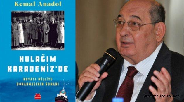 """""""Kulağım Karadeniz'de"""" adlı Romanı için Ereğli'de Söyleşi ve İmza Günü"""