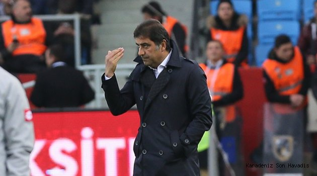 Maç sonu teknik direktör Ünal Karaman'ın açıklamaları