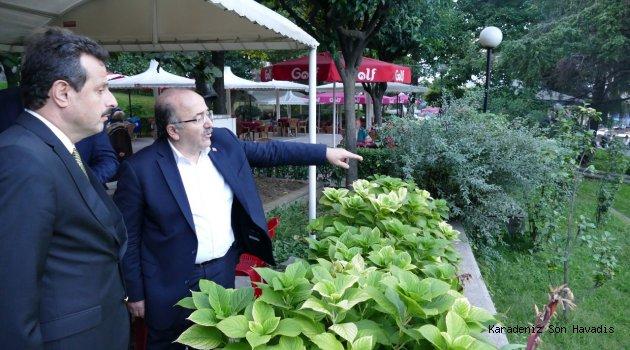 Meydan Parkı'ndan sonra sıra Fatih Parkı'na geldi