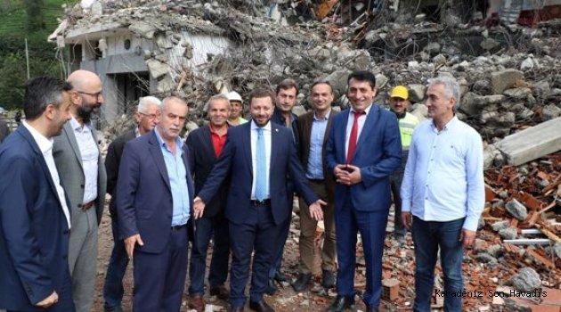 Milletvekili Avcı, Hem Yatırımları İnceledi Hem Vatandaşı Dinledi