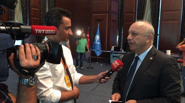 Özbakır '' 21 Ekim Dünya Gazeteciler Gününü Kutladı.''
