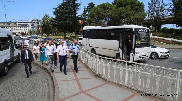 Rize Belediyesi, Şehiriçi Trafiğini Rahatlatmakta Kararlı