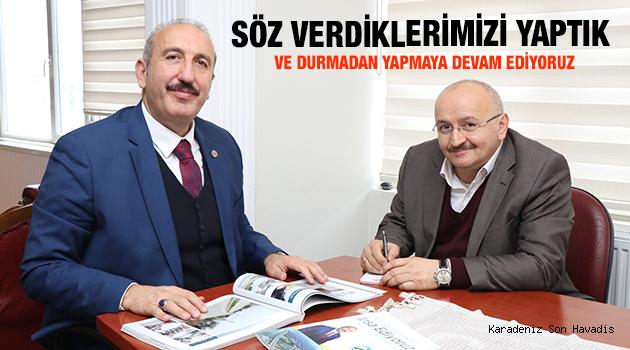 Röportaj ; Ardeşen Belediye Başkanı Hakan GÜLTEKİN