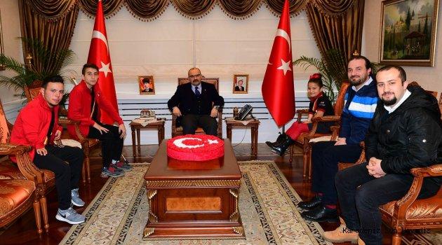 Sporculardan Trabzon Valisi İsmail Ustaoğlu'na Ziyaret
