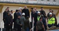 Cumhurbaşkanımız Erdoğan, Çamlıca Camisi'nde incelemelerde bulundu