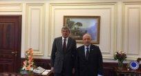 Milletvekili Özbakır ,Adalet Bakanı Müsteşarı Kenan İpek'i ziyaret etti