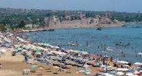 Mersin'de plajlar hareketlendi