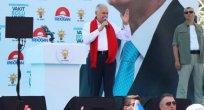 Başbakan Yıldırım Düzce'de miting yaptı