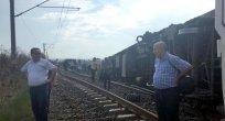 Çorlu'da yolcu treninin vagonu devrildi: Ölü ve yaralılar var