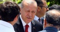 Cumhurbaşkanı Erdoğan Hacıbayram Camisi'nde
