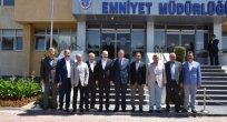 Kayseri Ticaret Odası Yönetiminden İl Emniyet Müdürlüğü'ne Ziyaret