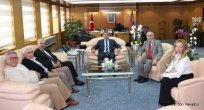 Rize'li Başkan'dan Emniyet Genel Müdürü Uzunkaya'ya ziyaret