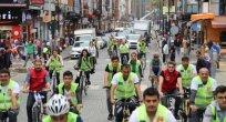 Avrupa Hareketlilik Haftası kapsamında bisiklet turu düzenlendi