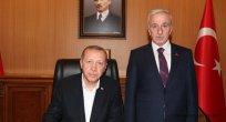 Cumhurbaşkanımız Erdoğan, Kayseri Valiliğini ziyaret etti