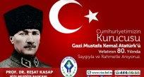 Başkan Kasap' tan 10 Kasım Atatürk'ü Anma Günü Mesajı
