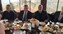 Başkanlar maç öncesi kahvaltıda buluştu