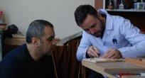 SAKEM'de Kursiyerler Ahşaba Şekil Veriyor
