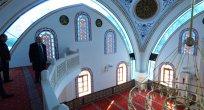 Ahi Evren Cami yarın ibadete açılıyor