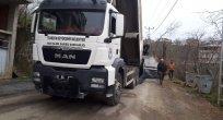 Büyükşehir Belediyesi Kaşüstü'de asfaltlama çalışmalarına başladı