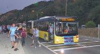 Büyüksehir Belediyesi taraftarları stadyuma ücretsiz taşıdı