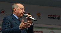 Cumhurbaşkanı Erdoğan , Mersin 'de halka hitap etti.