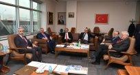 Erciyes ve Kayseri Üniversitesi Rektörlerinden Kayseri OSB'ne Ziyare