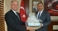 Kaymakam Çorumluoğlu'ndan Başkan Uysal'a Ziyaret