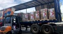 Kızılay'dan Gazze'ye ilaç yardımı