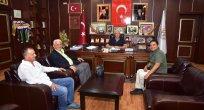 Kocaali Eski Kaymakamı Alper Balcı veda ziyaretlerine devam ediyor.