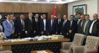 KTO Yönetiminden MHP İl Başkanı Serkan Tok'a Ziyaret
