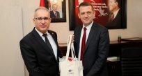 Milli Eğitim Bakanlığı Maarif Müfettişi Ali Yeni Ürkmezer'i Ziyaret Etti
