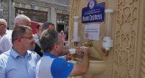 Trabzon Büyükşehir Belediyesi ikram çeşmesi