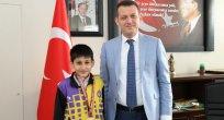 Türkiye Birincisi Emir Çınar, Ürkmezer'i Ziyaret Etti