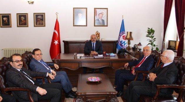 TTSO Heyeti'nden Başkan Zorluoğlu'na Hayırlı Olsun Ziyareti