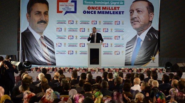 """""""Tüm süreçlerde Tokat liderine ve partisine sahip çıktı"""""""