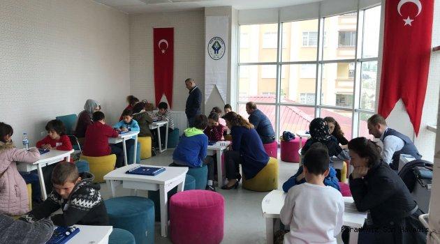 """""""ZEKA OYUNLARI YARIŞMASI"""" REVERSİ OYUNU İLE DEVAM ETTİ."""