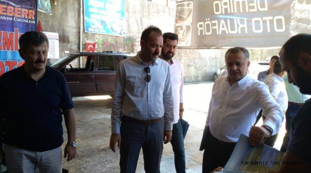 Zeki Tosun ve Mustafa Çağlan, Esnafı gezdi, Filyos'u anlattı