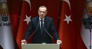 Cumhurbaşkanı Recep Tayyip Erdoğan, partisinin 132'nci Genişletilmiş İl Başkanları Toplantısı'nda konuştu.