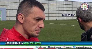 Kaptan Abdullah Durak 'ın basın açıklaması