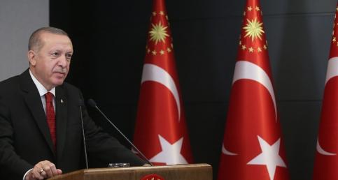 Cumhurbaşkanı Erdoğan, 8. Fetih Kupası Okçuluk Yarışması'nın ödül töreninde konuştu