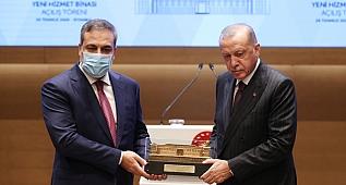 CumhurbaşkanıErdoğan, Milli İstihbarat Teşkilatı İstanbul Bölge Başkanlığı Yeni Hizmet Binası Açılış Töreni'nde konuştu