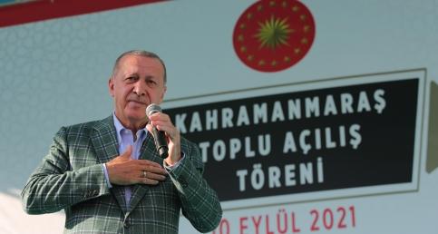 Cumhurbaşkanımız Erdoğan, Kahramanmaraş Milli İrade Meydanı'nda düzenlenen toplu açılış töreninde konuştu